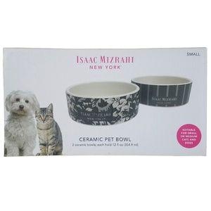 Isaac Mizrahi Other - 🆕Isaac Mizrahi Ceramic Pet Bowl Set
